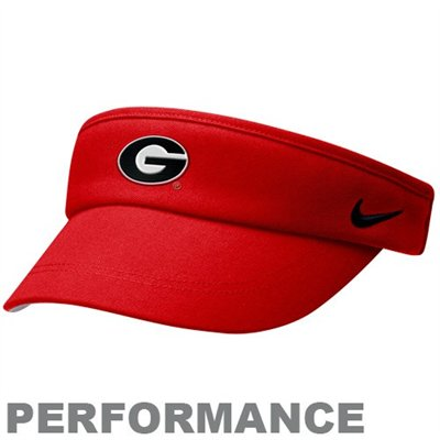 afcb11437b448 Georgia Bulldogs Nike Dri-FIT Sideline Visor at End Zone Apparel ...