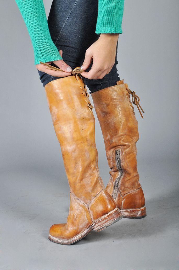 Statele Unite imagini noi din cel mai bine vândut Manchester Tan Rustic White BFS by Bed Stu   Leather shoes brand ...