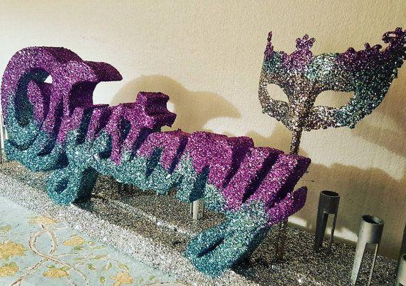 Mardi Gras Sweet 16 Decorations