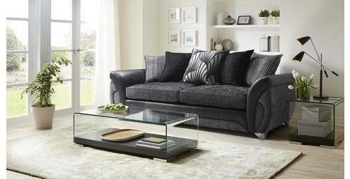Matinee 4 Seater Pillow Back Sofa Matinee Dfs Fabric Sofa Black Rooms Black Sofa