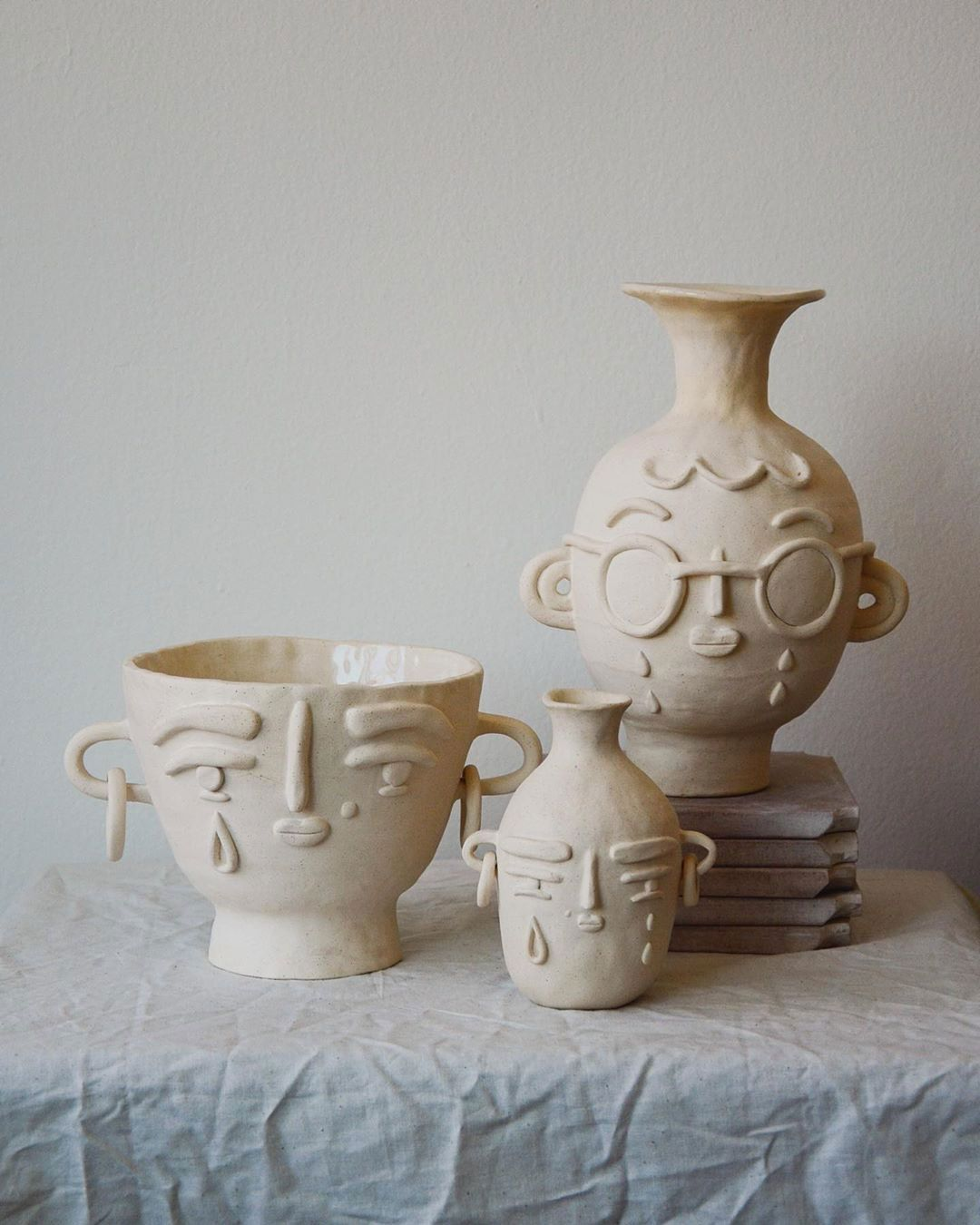 A few ceramic artists whose work I'm loving right now