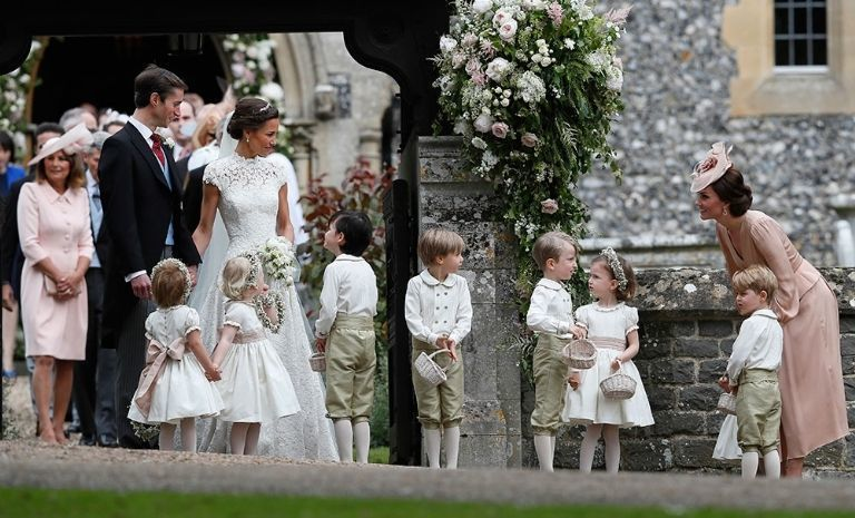 A Drawing By Kate Middleton Was On Pippa Middleton S Wedding Programs Pippa Middleton Wedding Pippas Wedding Pippa Middleton