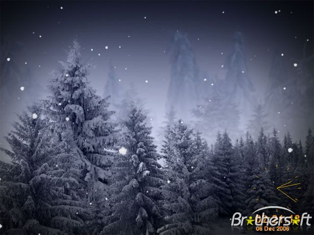 Animated Snowflakes Screensaver Screen Savers Animated Screensavers Animation