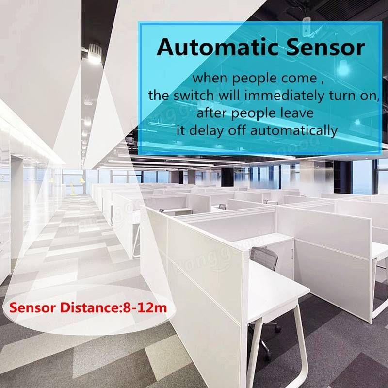 LED 120° 100W Infrared PIR Motion Sensor Detector Outdoor Wall Light