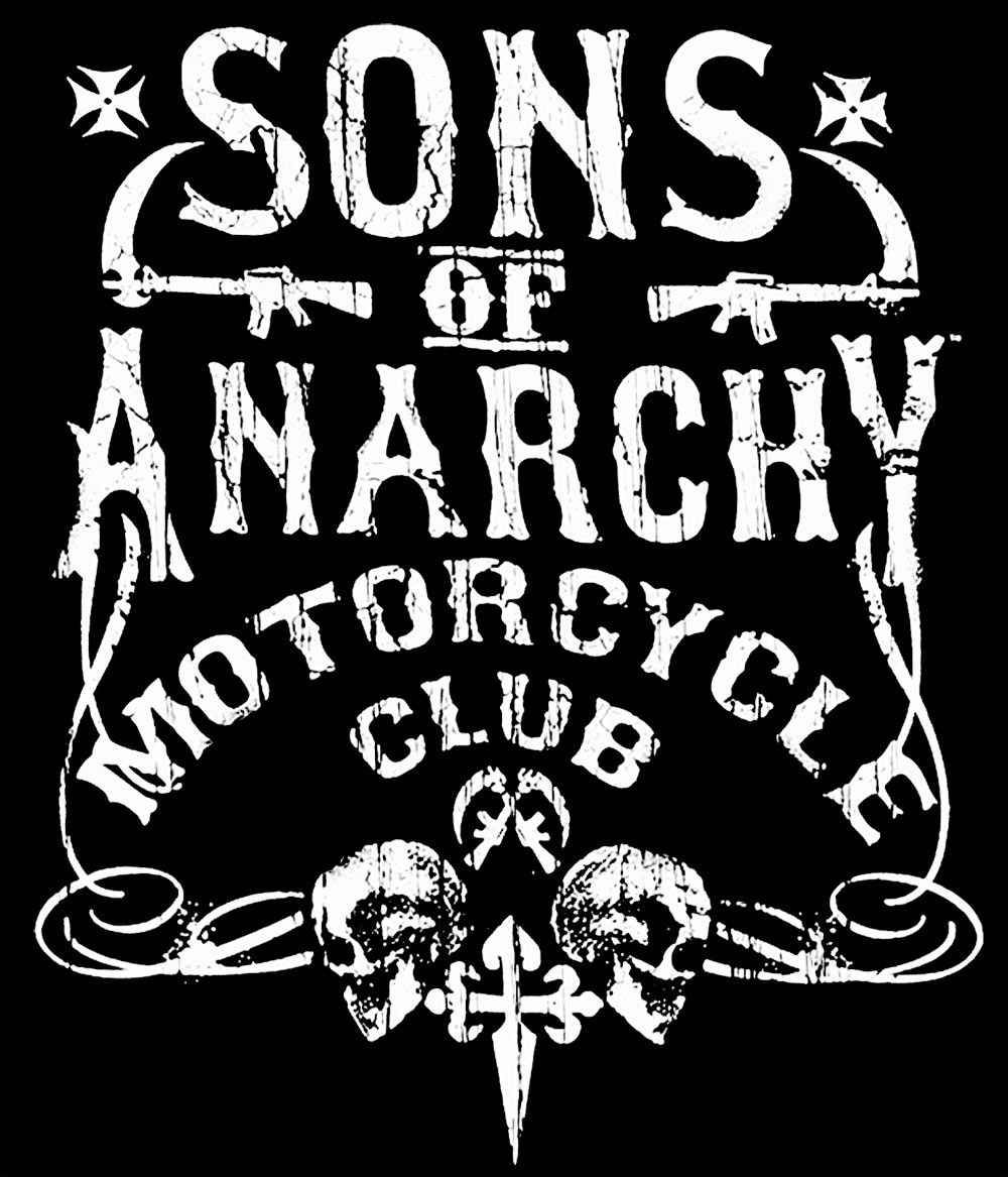 camiseta chica sons of anarchy motorcycle club logo. Black Bedroom Furniture Sets. Home Design Ideas