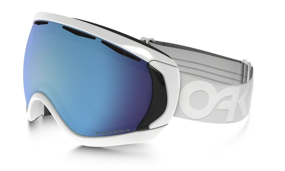 2520f1404f5b Shop Oakley Canopy™ Factory Pilot Whiteout PRIZM™ Snow Goggle in Factory  Pilot Whiteout   Prizm Snow Sapphire Iridium at the official Oakley online  store.
