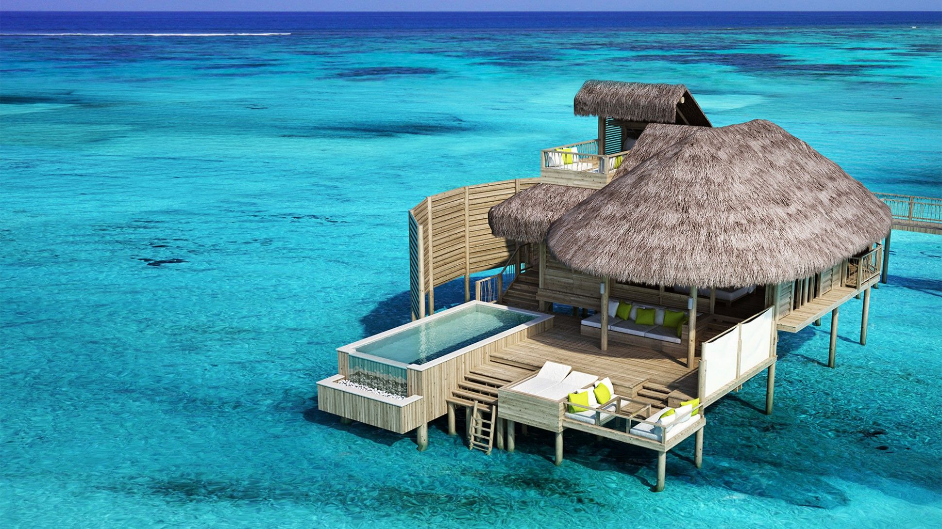 Nice Ocean Bungalows Caribbean Part - 6: 6 Amazing Floating Villas And Overwater Bungalow Hotels