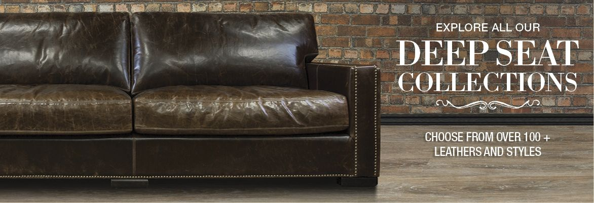 Deep Seat Leather Sofas And Available In Many Leathers And Colours Deep Seating Leather Seat Leather Sofa