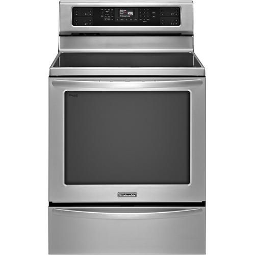 Kitchenaid 30 Quot Self Cleaning Freestanding Electric