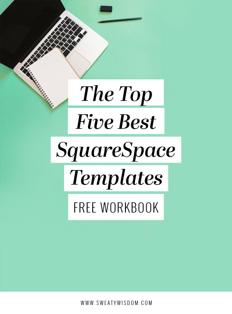 the top 5 best squarespace templates template