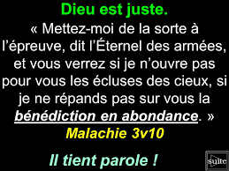 Mettre Dieu A L Epreuve Et Recevoir Les Benedictions En Abondance Malachie 3v10 Daughter Of God How To Plan King Of Kings