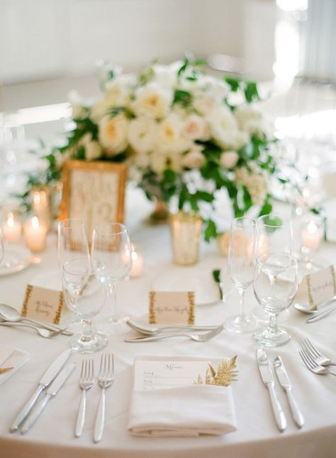 Top 15 So Elegant Wedding Table Setting Ideas for 2018 - Oh Best Day Ever & Top 15 So Elegant Wedding Table Setting Ideas for 2018 | Wedding ...