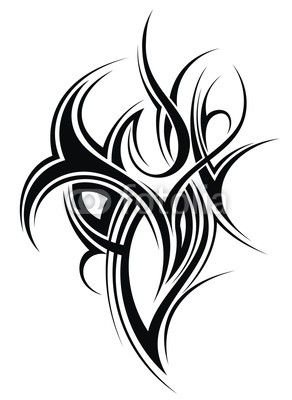 Wall mural tattoo design tattoo tribal for Back mural tattoo designs