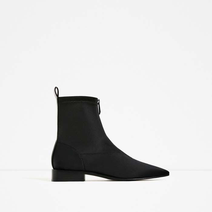 The Best Ankle Boots on Zara via @WhoWhatWear