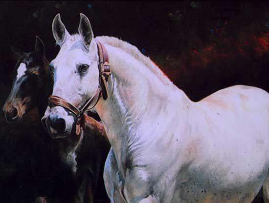 Carolle Beaudry - Peintures Elevage Massa