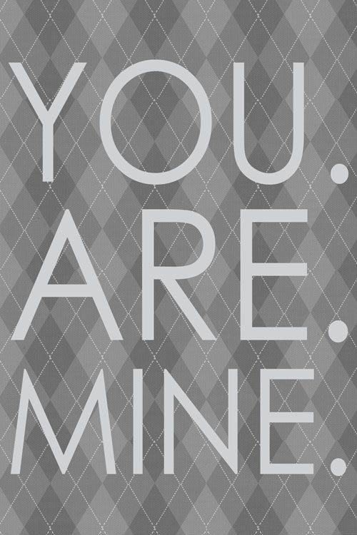 50 Shades of Grey Christian Grey Art You are by LiveInspiredNow, $39.00