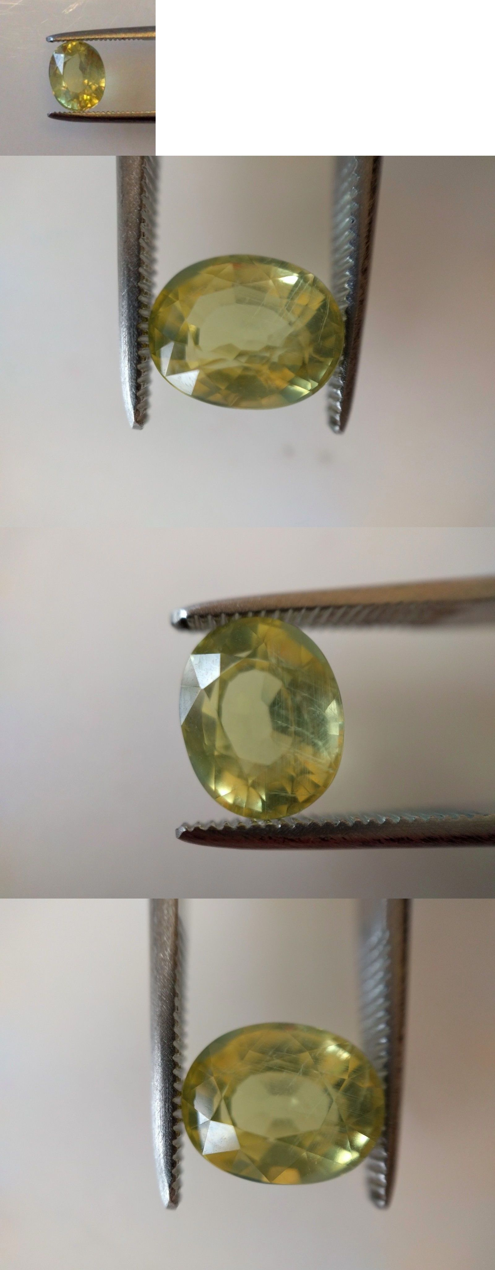 Natural Sapphires 4644: Natural Aigs Certified Unheated Yellow Sapphire 2.02Ct -> BUY IT NOW ONLY: $545 on eBay!