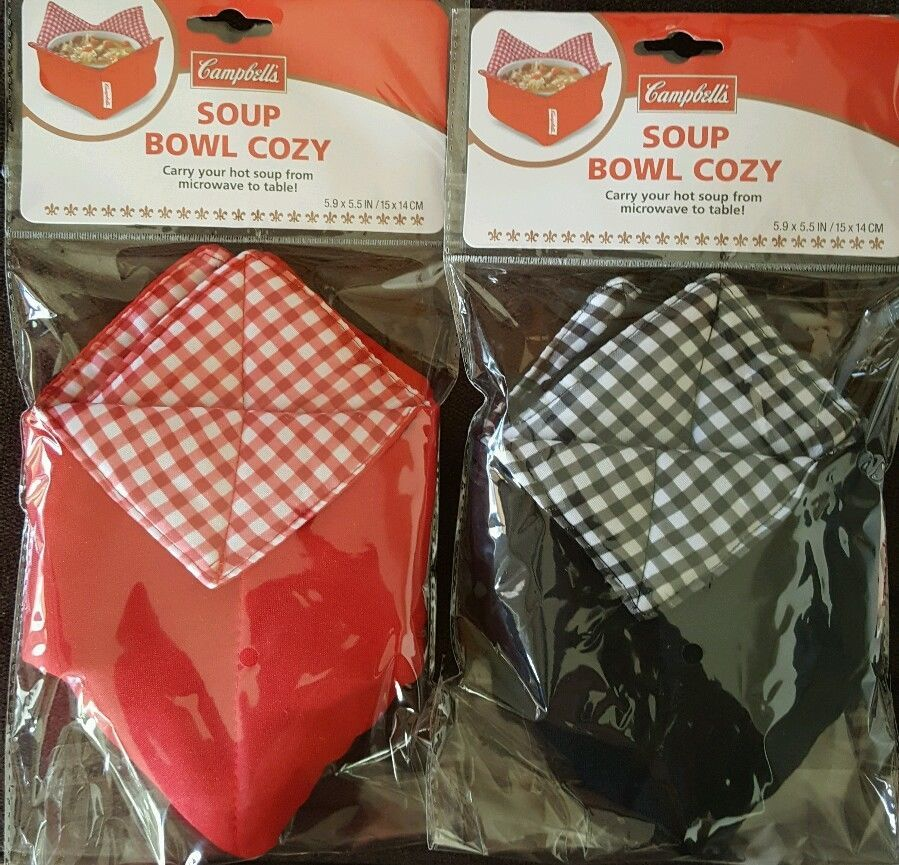 campbell s soup bowl cozy microwavable