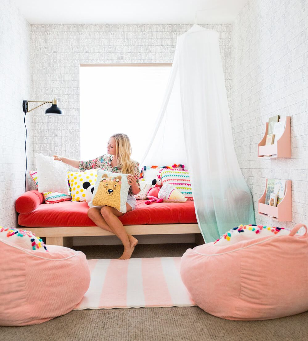 emily henderson target pillowfort playroom makeover | kid spaces