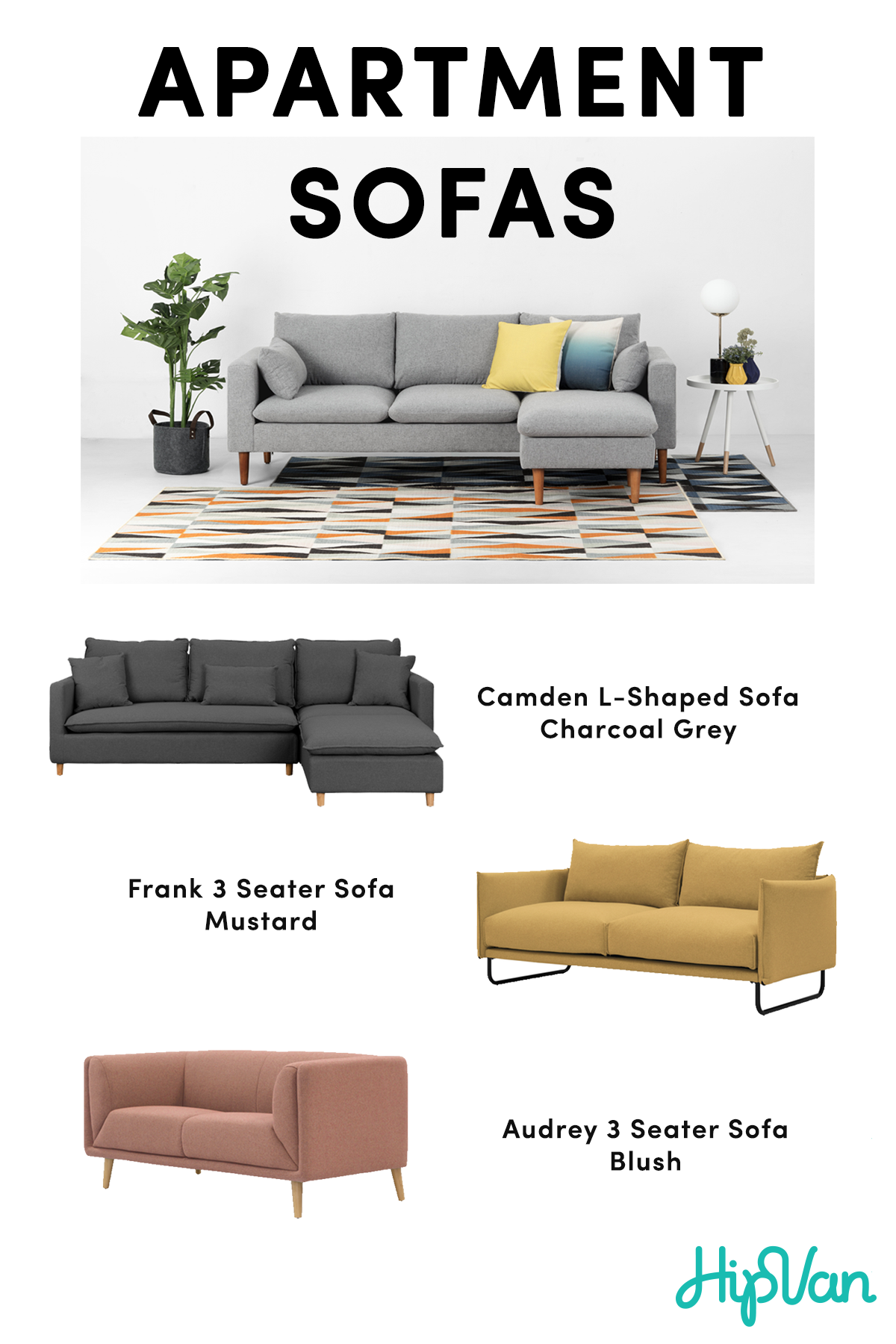 Our Stylish Apartment Sofas Are The