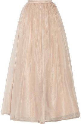 6dd4532ebc65ca Maxi Skirt - ShopStyle | Fashion 3 summer outfits | Silk organza ...