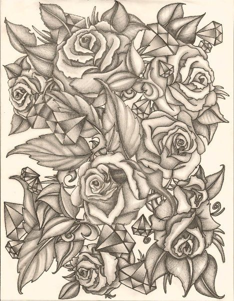 half sleeve tattoo designs roses rose sketch pencil for