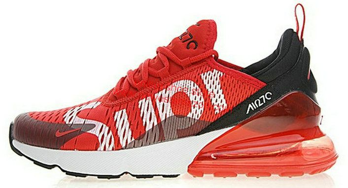 the best attitude 445a6 e5a8a Authentic Nike Air Max 270 X Supreme Red White Ah8050 610 Shoe Nike Air Max,