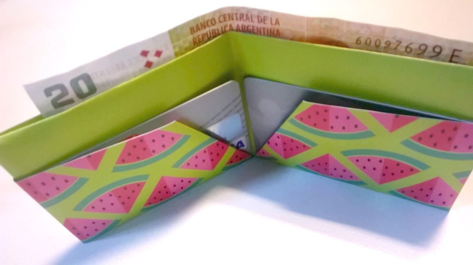 Billetera de papel   Lovely   Pinterest   Papel y Reciclado