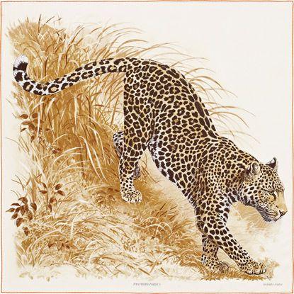 La Maison des Carrés Hermès Panthera Pardus Hermes carre - maison avec tour carree