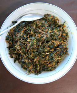 Satu lagi makanan khas Ternate: sayur garu http://www.perutgendut.com/read/sayur-garu-khas-ternate/973 #Nusantara