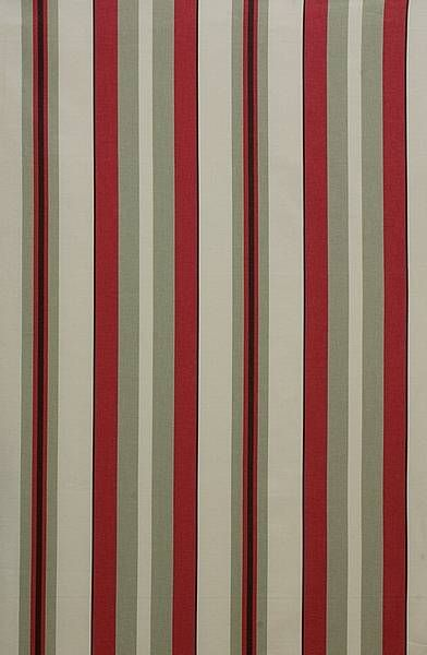 Red And White Drapes