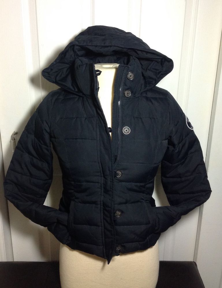 36cef7740f9d9 Abercrombie Kids girls ( youth) Winter Jacket size XL color Navy blue  #fashion #clothing #shoes #accessories #kidsclothingshoesaccs  #girlsclothingsizes4up ...