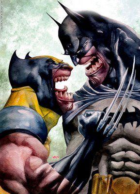 ROGER CRUZ BLOG: Wolverine X Batman