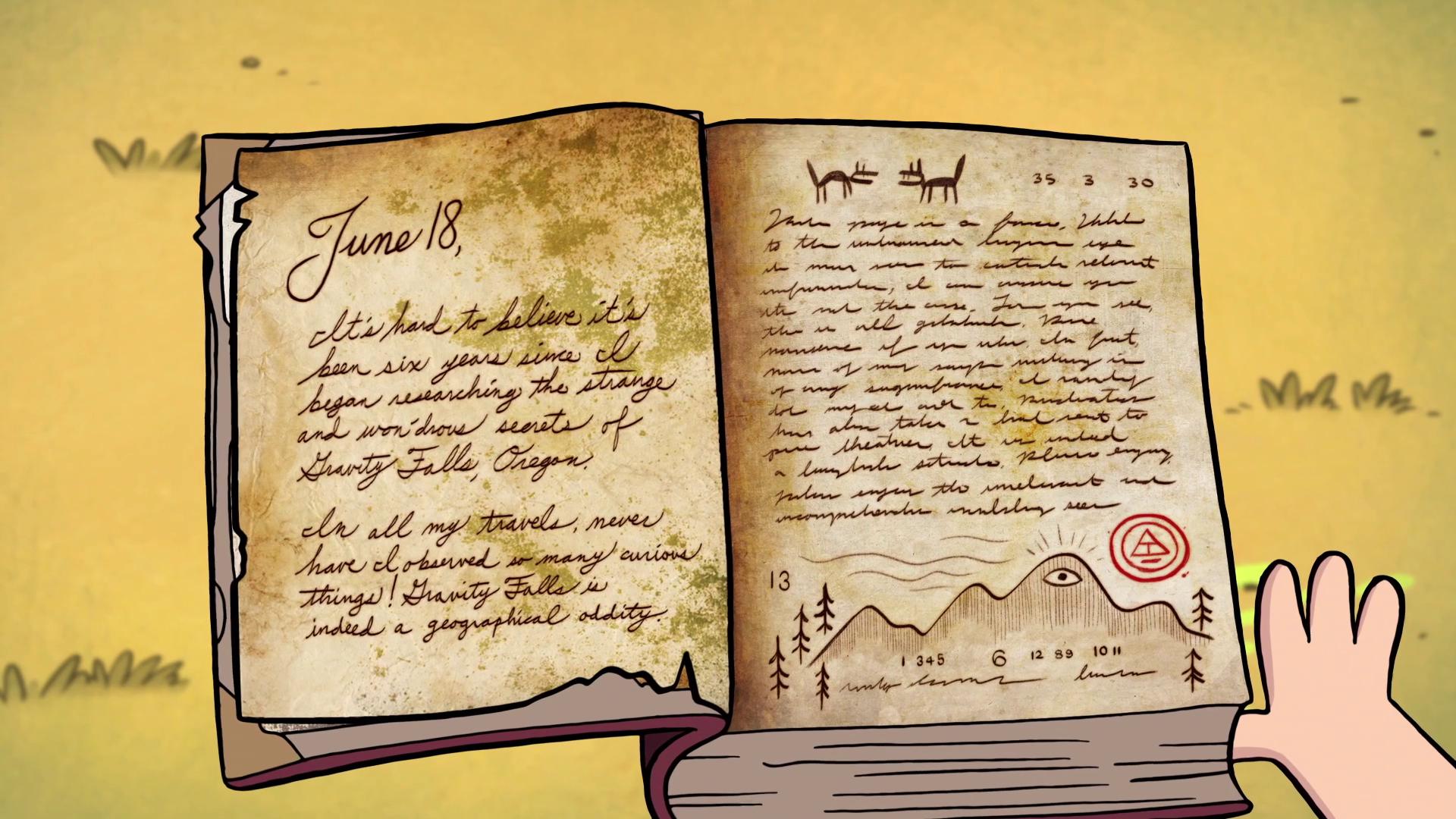 шапки дневник диппера из гравити фолз картинки напомним