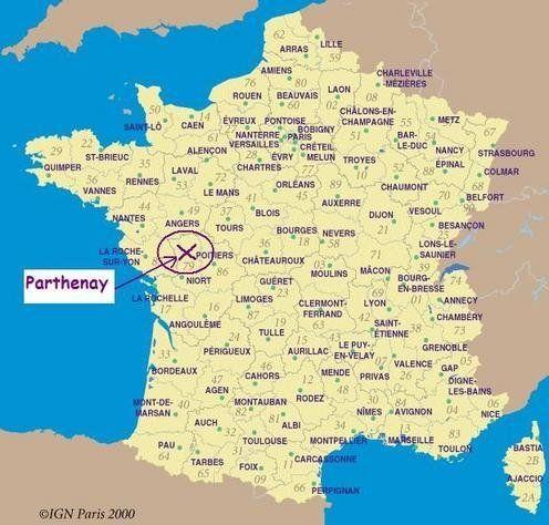 Tourisme A Parthenay Map Tourism France