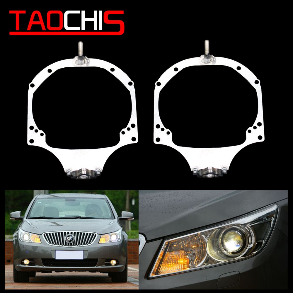 Taochis Car Styling Frame Adapter For Buick Lacrosse 2009 2012 Hella 3r 5 Q5 Projector Lens Buick Lacrosse Car Headlights Projector Lens