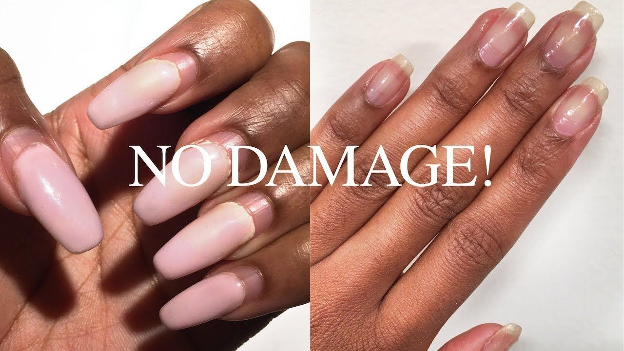 How To Safely Remove Acrylic Gel Nails Without Breakage Nia Hope Remove Acrylic Nails Diy Acrylic Nails Acrylic Nails At Home