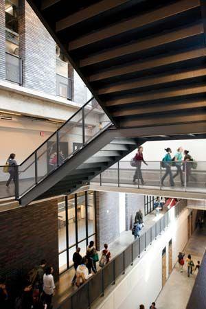 Booker T Washington High School Dallas Texas Allied Works Unique Interior Design School Dallas