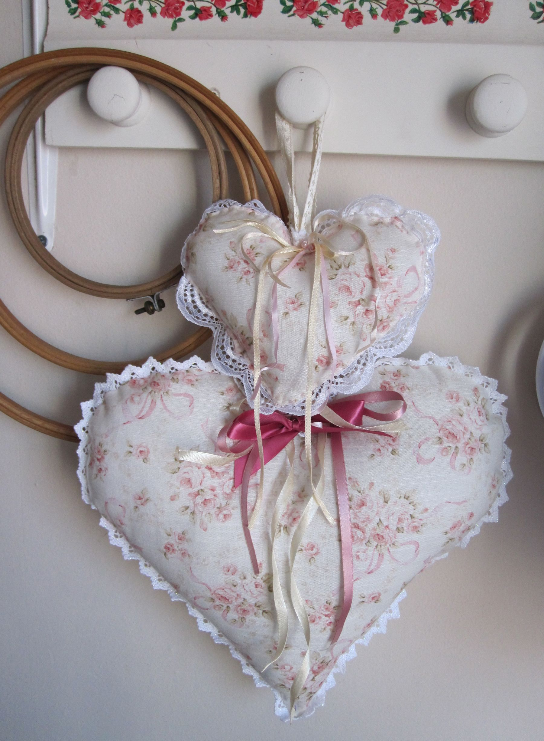Pretty hearts I made :)