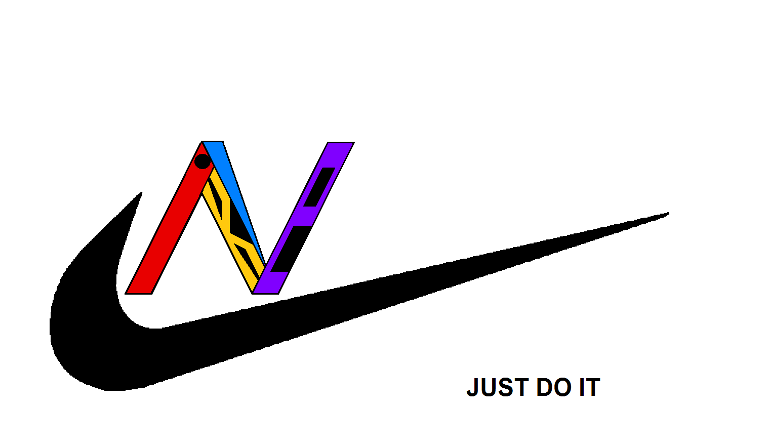 Nike, name, and logo, inside, N.