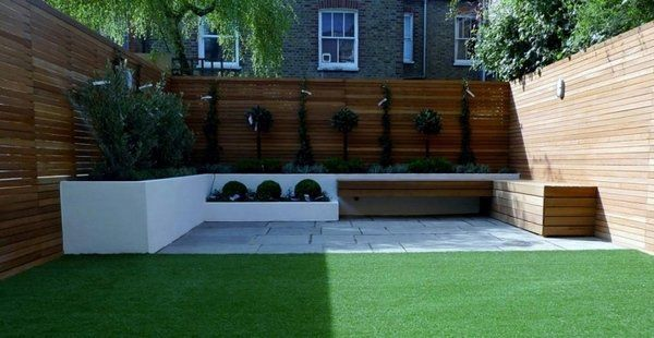 Contemporary Patio Design Garden Fence Ideas Privacy Fence Wood Panels