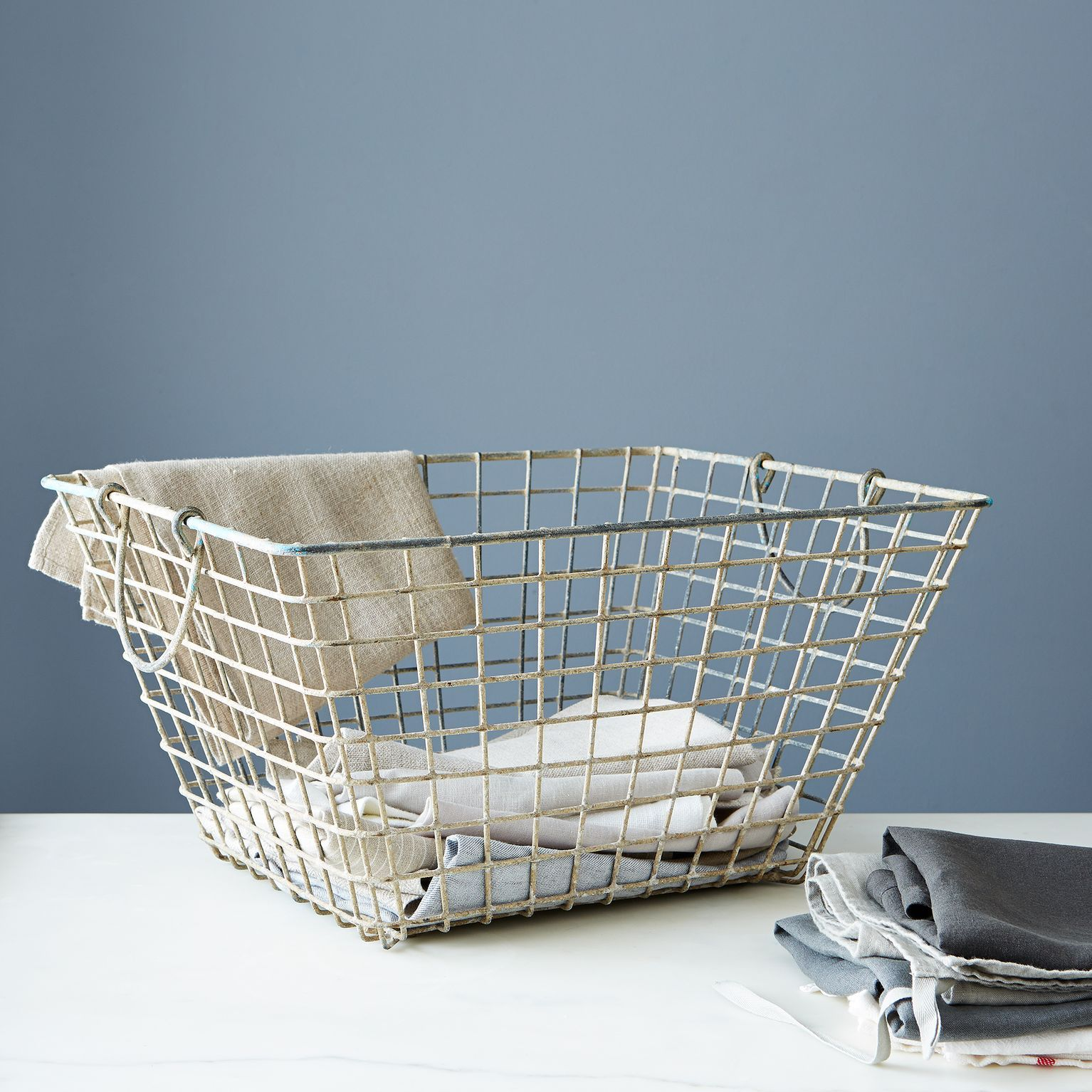 Vintage French Oyster Basket | Oysters and Vintage