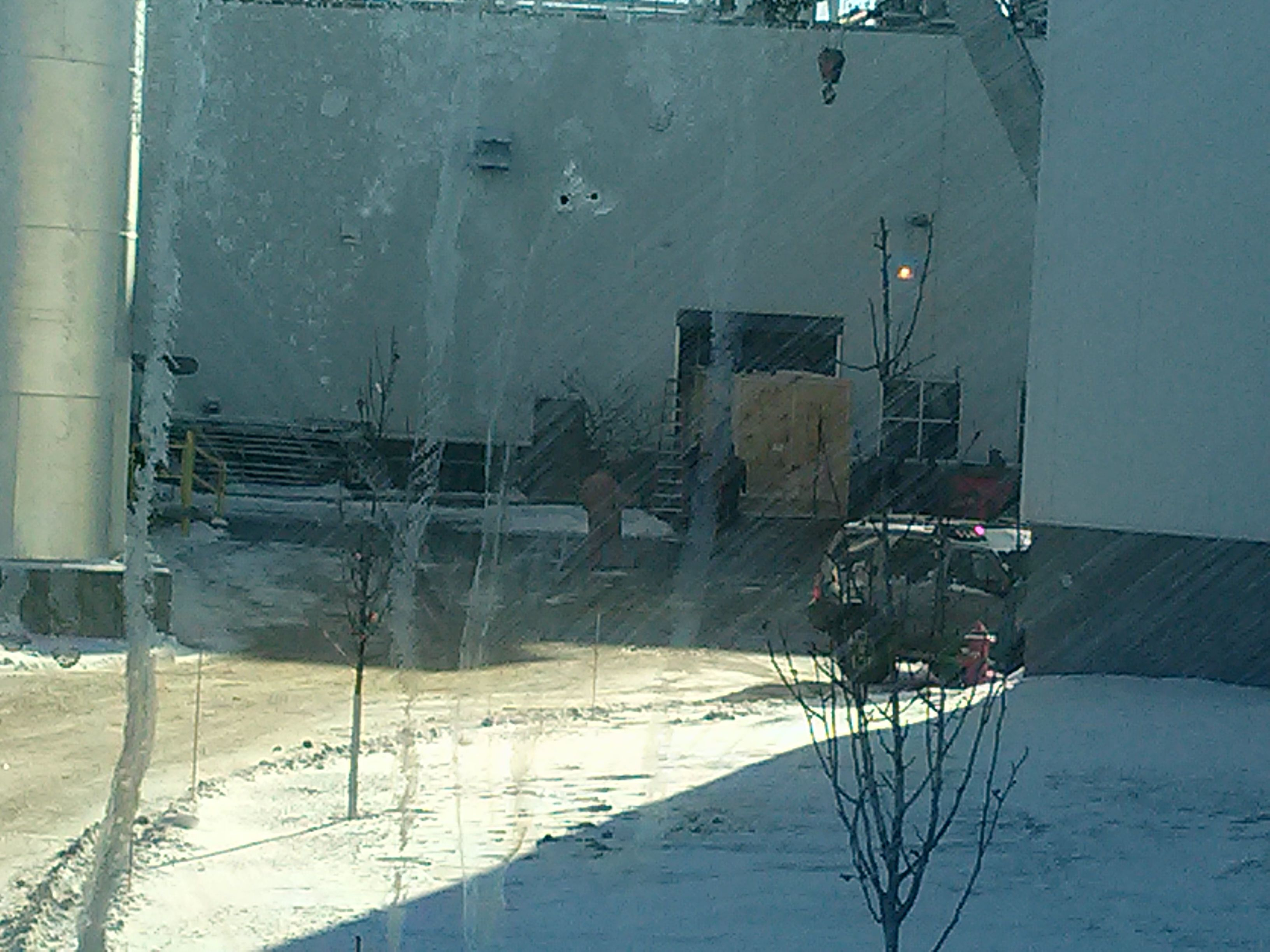 On Site Crating In Iowa City Enjoying That 0 Degree Weather