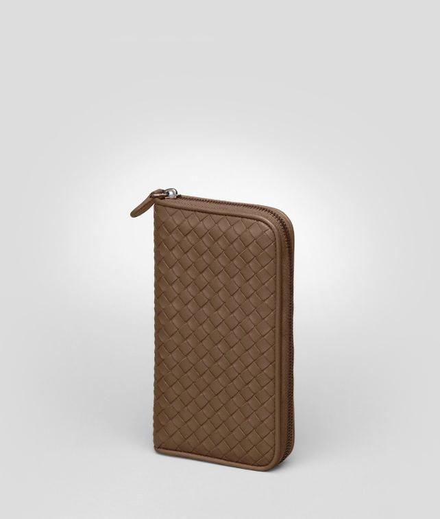 Junior Intrecciato Nappa Zip Around Wallet - Women's Bottega Veneta® Wallet - Shop at the Official Online Store
