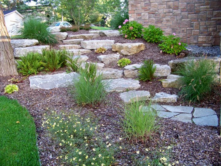 find this pin and more on landscaping for sloping areas check out these 17 fantastic terraced flower garden ideas - Flower Garden Ideas Sloping