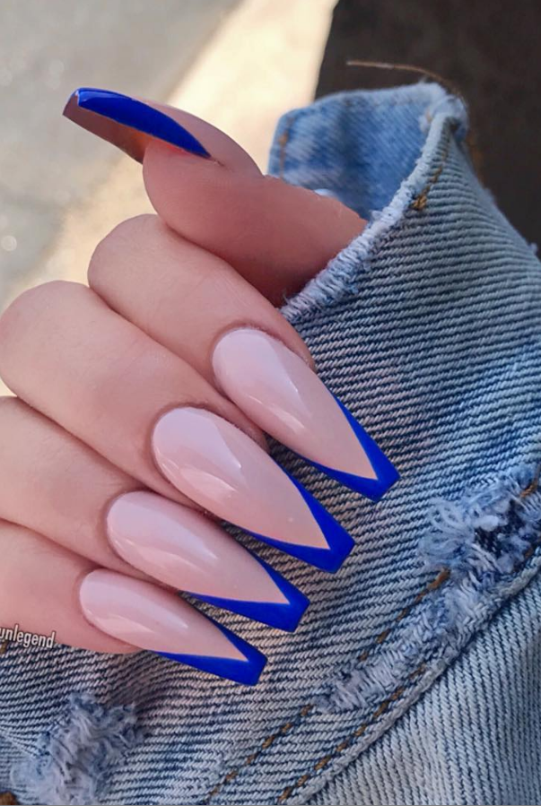61 Awesome Coffin Nail Designs You'll Flip For - Page 61 of 61 - Lily Fashion Style