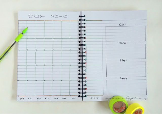 BULLET JOURNAL  Monthly Layout Ideas (Part 2) Bullet journals