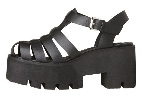 aba62e7fb01 I just ordered these     Windsor Smith Fluffy Black leather platform sandals