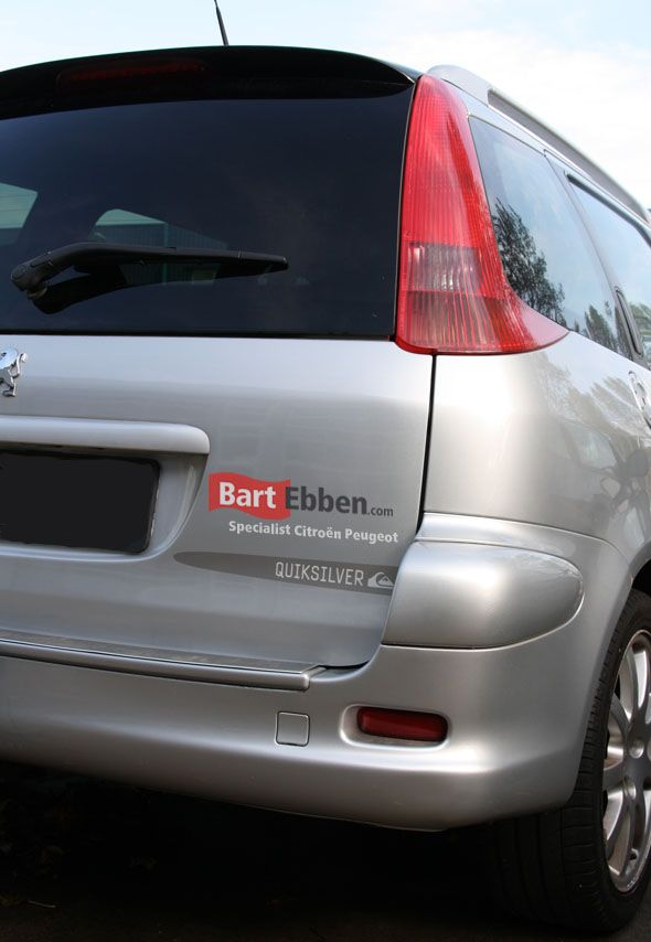 Peugeot 206 SW car parts used & new: http://bartebben.com/parts ...