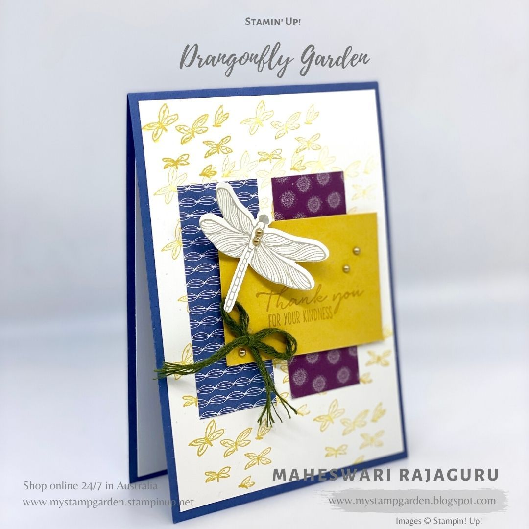 Stampin' Up! Dragonfly Garden